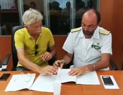 Abruzzo, porti (e mare) più puliti: firmato protocollo d'intesa regionale