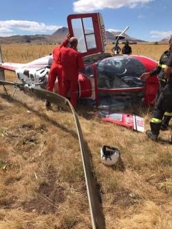Incendi, precipita sul Gran Sasso elicottero dei Vigili del fuoco: non ci sono vittime.