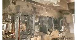 A fuoco appartamento a Sulmona