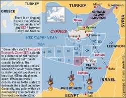 Crisi del gas a Cipro, mandato di arresto per i turchi