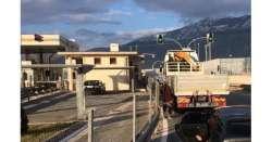 A25, stop tir e bus tra Pratola e Bussi