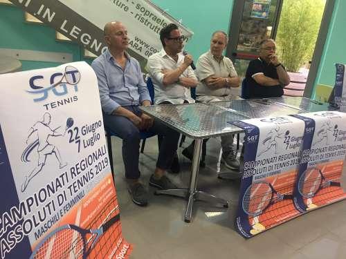 Tutti a San Giovanni Teatino per i Campionati regionali di tennis