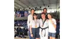 Teakwondo, Ciccarelli e Baliva campioni