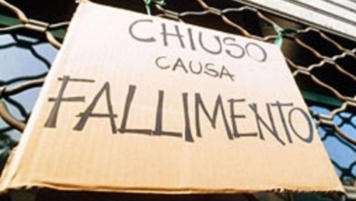Unioncamere, fallimenti in calo: -15% a livello nazionale, -2,9% in Abruzzo