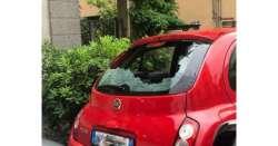 Violenta grandinata a Pescara, chicchi record