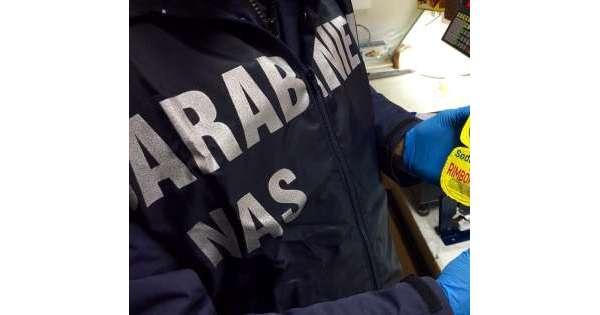 ANSA 30 09 2019 :                        Blitz Nas in laboratorio pasta all'uovo