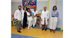 ANSA 2 10 2019 :                        Biblioteca in dono a Pediatria Lanciano