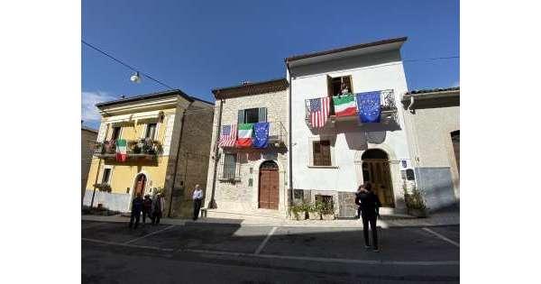 ANSA 3 10 2019 :                        Arriva Pompeo, Pacentro blindata