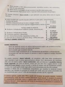 Incendi, Abruzzo. Regione: per ripartire serve investimento straordinario da 250 milioni