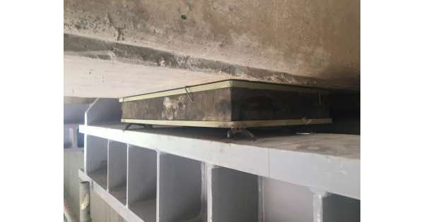 ANSA 14 10 2019 :                        Calcinacci da viadotto A24,nessun ferito