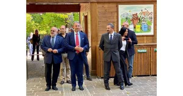 ANSA 15 10 2019 :                        Costa,Parchi diventino punto riferimento