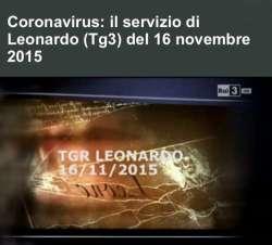 Il Coronavirus nel servizio di Leonardo (Tg3) del 16 novembre 2015?