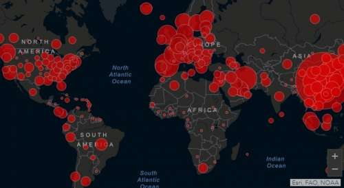 Coronavirus: oltre 380mila casi nel mondo