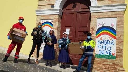 La Chocogel di Giulianova dona uova di Pasqua ai bimbi dell'Istituto Castorani