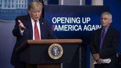 Donald Trump presenta le linee guida per tornare alla normalità'. Tre le fasi
