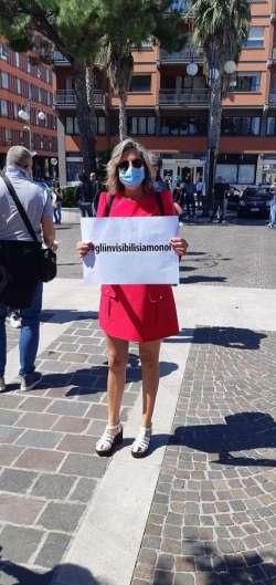 Sit-in di protesta a Pescara: