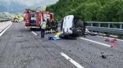 Incidente mortale sull'A24. 38enne perde la vita, due feriti gravi