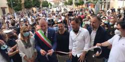 Celano. Francesco Totti e Luciano Zauri per l'inaugurazione del nuovo polo sportivo sociale