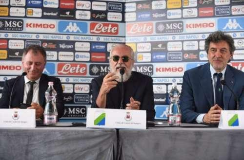 Il Napoli sceglie l'Abruzzo: main sponsor istituzionale per 800mila euro a stagione