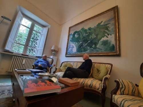 Collezione Alfredo e Teresita Paglione donata a Fondazione Pescarabruzzo