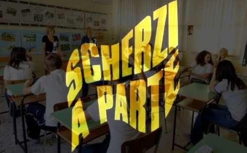 L'APERTURA DELL'ANNO SCOLASTICO IN ABRUZZO MICA E' SU SCHERZI A PARTE?