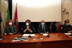 Le dichiarazioni del presidente Marsilio al termine della riunione dell'Unità di crisi Covid