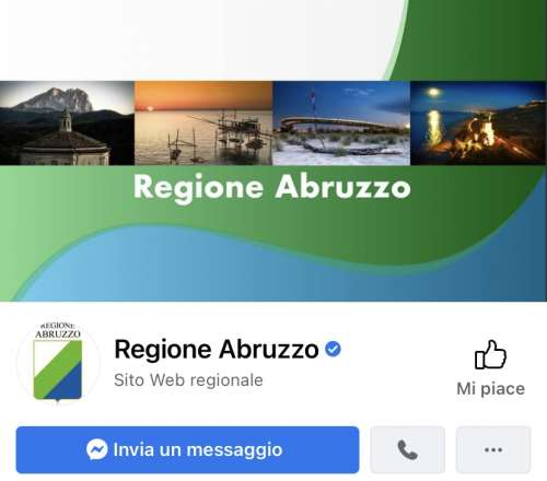 Servizio Mediaset contro il governo sulla pagina Facebook della Regione Abruzzo: E' polemica
