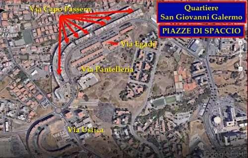 Blitz antidroga catanese tocca anche il Teramano: indagato 29enne domiciliato a Martinsicuro