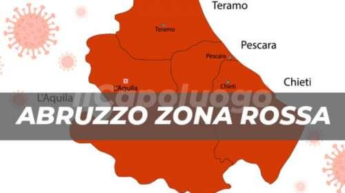 Il Tar sospende ordinanza su zona arancione di Marsilio: l'Abruzzo torna in zona rossa
