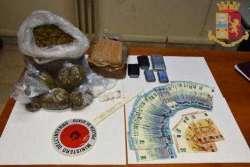 Teramo. Arrestato un 50enne con 1 chilo e mezzo tra cocaina e marijuana