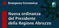 Misure restrittive per i Comuni di PESCARA, SPOLTORE, FRANCAVILLA AL MARE, MONTESILVANO
