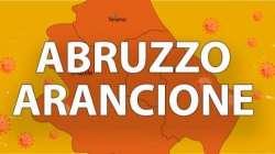 L'Abruzzo a rischio zona arancione da domenica 14 febbraio: rt oltre 1,10