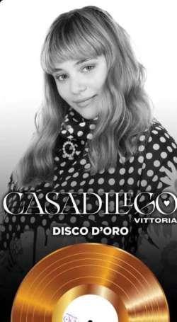 Elisa Casadilego da Sanremo al Disco d'Oro