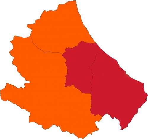 L'Abruzzo resta divisa a metà. Un anno fa il primo caso in regione