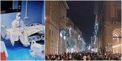 Assembramenti diversi:chi in ospedale,chi in centro storico. Record di ricoveri in Abruzzo
