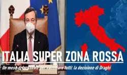 Ipotesi zona rossa in tutta Italia. Si decide oggi. Astrazeneca agli over 65: c'è l'ok
