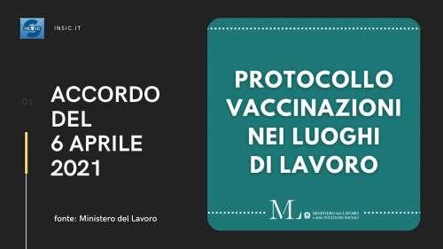 Vaccinazioni Covid nei luoghi di lavoro: regole e documenti