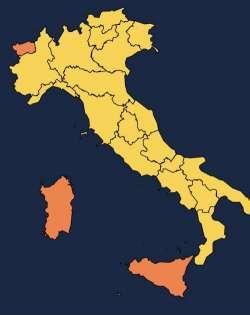 Da domani quasi tutta Italia in