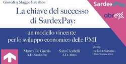 Abrex e SardexPay presentano la campagna di equity crowdfunding di Sardex Spa