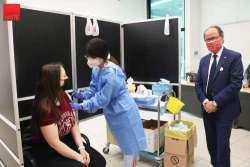 VIDEO. UNI-TE: Primo open-day per la vaccinazione degli universitari