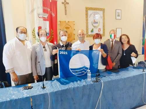 Bandiera Blu 2021 a Martinsicuro, la cerimonia di consegna: