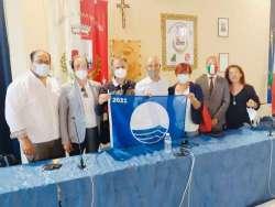 """Bandiera Blu 2021 a Martinsicuro, la cerimonia di consegna: """"L'anno del rilancio"""""""
