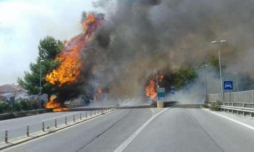 VIDEO. Incendio nel pescarese: 70 famiglie evacuate. Feriti e persone in fuga