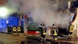 Pescara, in fiamme il negozio di un calzolaio: evacuata intera palazzina
