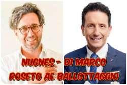 Roseto degli Abruzzi. Nugnes e Di Marco al ballottaggio