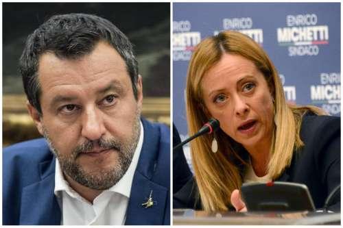 Salvini contro Meloni:«Una rottura di cog**oni per il centrodestra»
