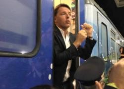 Chi ha fischiato Renzi nella sua tappa abruzzese nell'imbarazzo di D'Alfonso