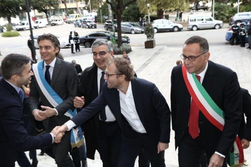 Pescara, il ministro Lotti benedice il progetto del nuovo stadio