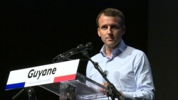 Francia: il presidente Macron in visita nella Guyana