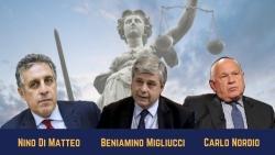 Sondaggio della Fondazione Einaudi: Ministro della Giustizia, chi tra Di Matteo, Migliucci e Nordio?
